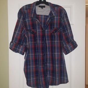 I.N.C. plaid shirt